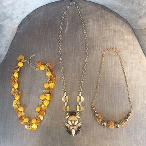 Costume Jewelry 3 Peices